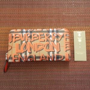 GENUINE BURBERRY GRAFFITI WALLET